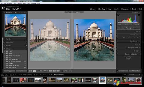 સ્ક્રીનશૉટ Adobe Photoshop Lightroom Windows XP