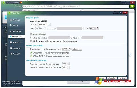 સ્ક્રીનશૉટ MediaGet Windows XP