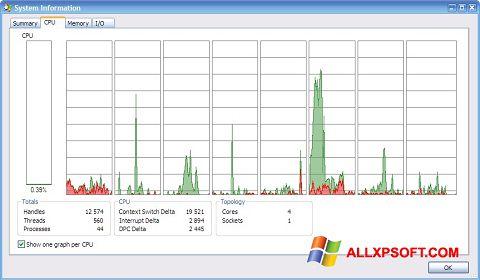 સ્ક્રીનશૉટ AMD Dual Core Optimizer Windows XP
