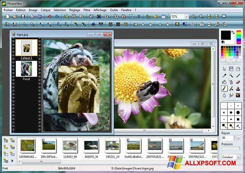 સ્ક્રીનશૉટ PhotoFiltre Windows XP