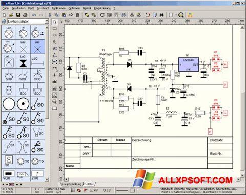 સ્ક્રીનશૉટ sPlan Windows XP