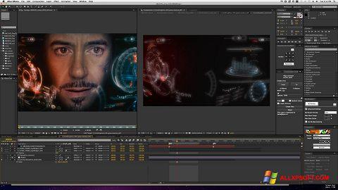 સ્ક્રીનશૉટ Adobe After Effects Windows XP