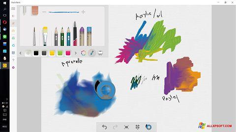 સ્ક્રીનશૉટ Fresh Paint Windows XP