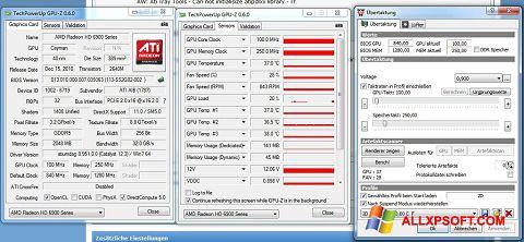 સ્ક્રીનશૉટ ATI Tray Tools Windows XP