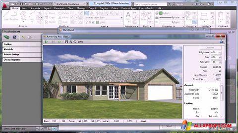સ્ક્રીનશૉટ AutoCAD Windows XP