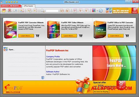 સ્ક્રીનશૉટ Doc Reader Windows XP
