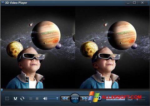 સ્ક્રીનશૉટ 3D Video Player Windows XP