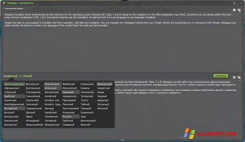 સ્ક્રીનશૉટ Dicter Windows XP