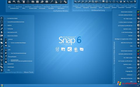 સ્ક્રીનશૉટ Ashampoo Snap Windows XP