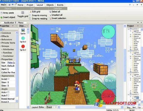 સ્ક્રીનશૉટ Construct Classic Windows XP