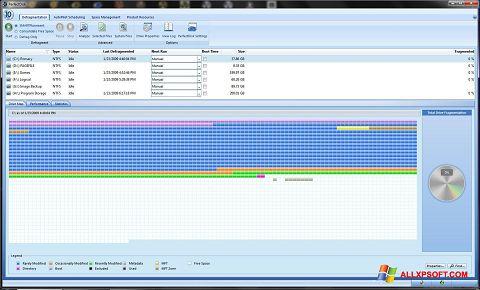 સ્ક્રીનશૉટ PerfectDisk Windows XP