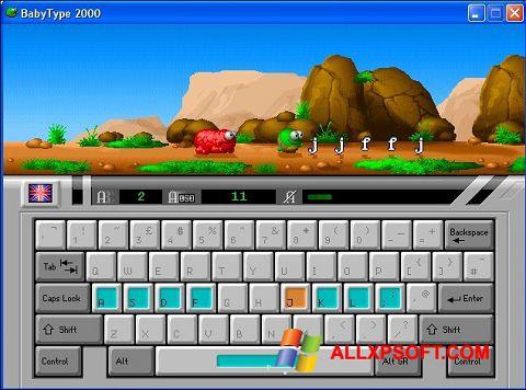 સ્ક્રીનશૉટ BabyType Windows XP