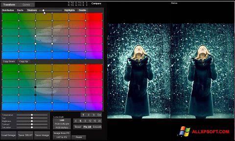 સ્ક્રીનશૉટ 3D LUT Creator Windows XP