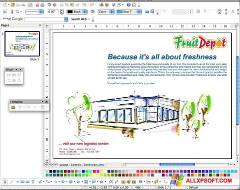 સ્ક્રીનશૉટ Apache OpenOffice Windows XP