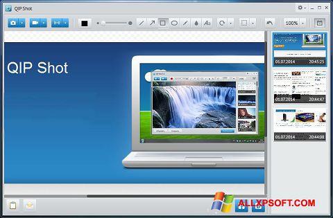 સ્ક્રીનશૉટ QIP Windows XP