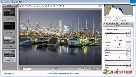 સ્ક્રીનશૉટ Adobe Camera Raw Windows XP