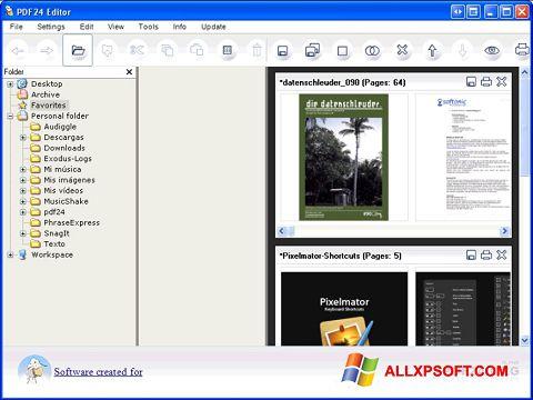 સ્ક્રીનશૉટ PDF24 Creator Windows XP