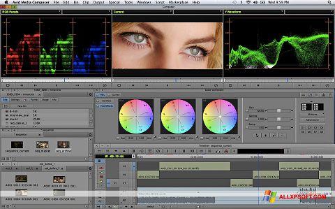 સ્ક્રીનશૉટ Avid Media Composer Windows XP