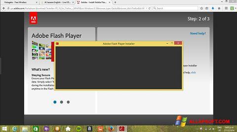 સ્ક્રીનશૉટ Adobe Flash Player Windows XP