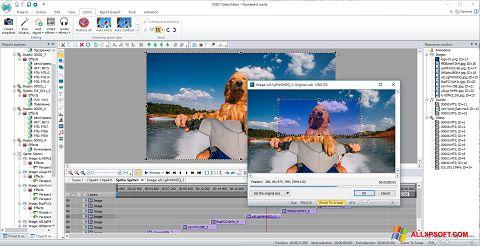 સ્ક્રીનશૉટ VSDC Free Video Editor Windows XP