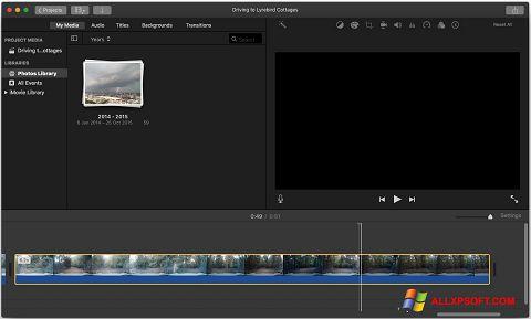 સ્ક્રીનશૉટ iMovie Windows XP