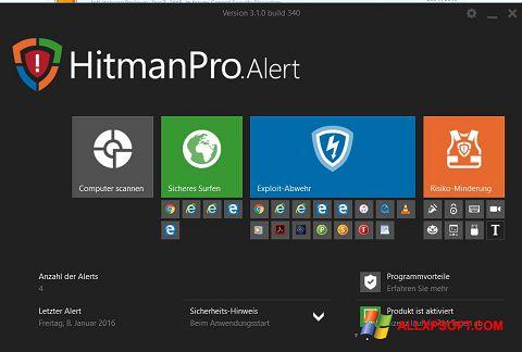 સ્ક્રીનશૉટ HitmanPro Windows XP