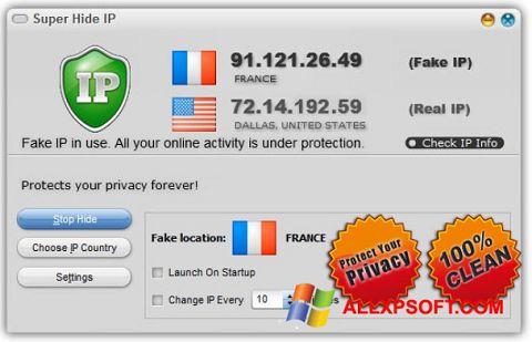 સ્ક્રીનશૉટ Super Hide IP Windows XP