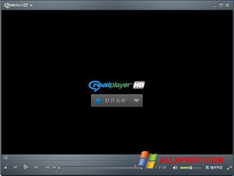 સ્ક્રીનશૉટ RealPlayer Windows XP
