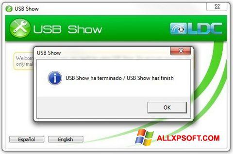 સ્ક્રીનશૉટ USB Show Windows XP