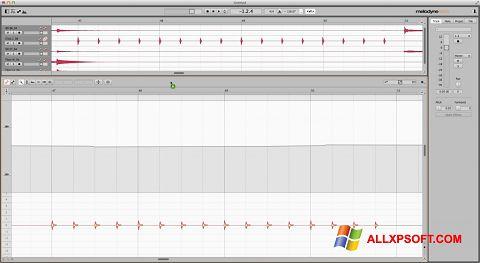 સ્ક્રીનશૉટ Melodyne Windows XP
