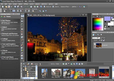 સ્ક્રીનશૉટ PaintShop Pro Windows XP