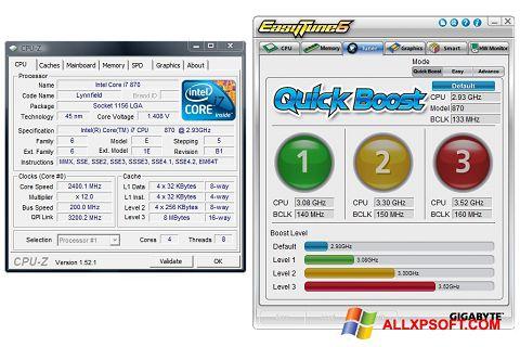 સ્ક્રીનશૉટ EasyTune Windows XP