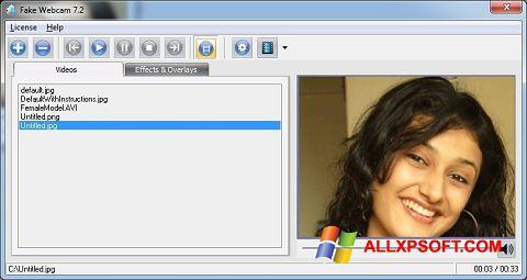 સ્ક્રીનશૉટ Fake Webcam Windows XP