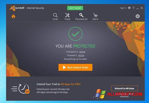 સ્ક્રીનશૉટ Avast Internet Security Windows XP