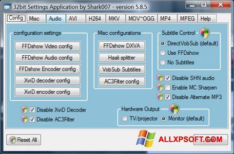 સ્ક્રીનશૉટ Vista Codec Package Windows XP