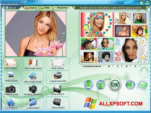 સ્ક્રીનશૉટ Photo Booth Windows XP
