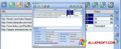 સ્ક્રીનશૉટ VideoGet Windows XP
