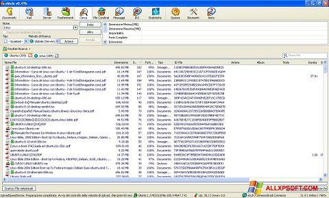 સ્ક્રીનશૉટ eMule Windows XP
