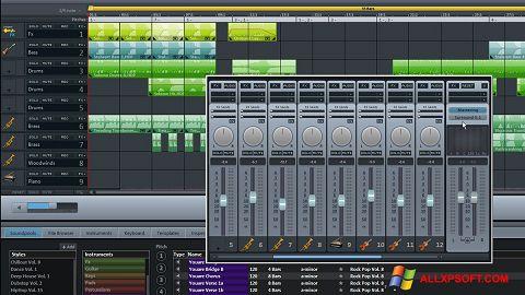 સ્ક્રીનશૉટ MAGIX Music Maker Windows XP