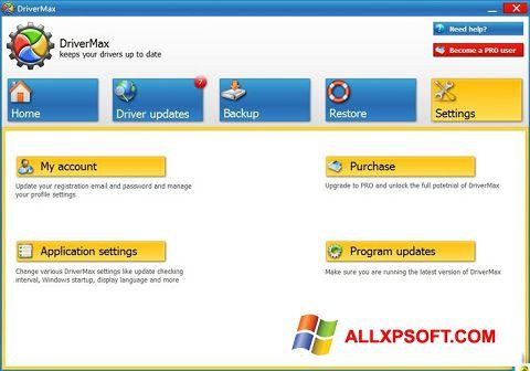 સ્ક્રીનશૉટ DriverMax Windows XP