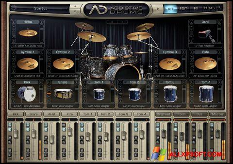 સ્ક્રીનશૉટ Addictive Drums Windows XP
