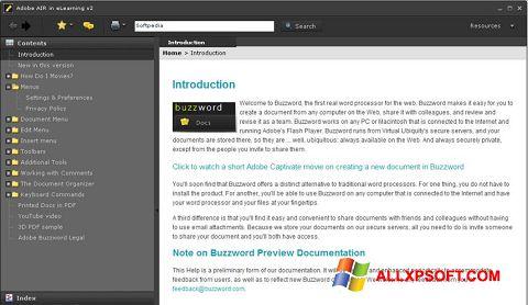 સ્ક્રીનશૉટ Adobe AIR Windows XP