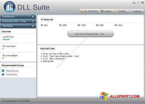 સ્ક્રીનશૉટ DLL Suite Windows XP