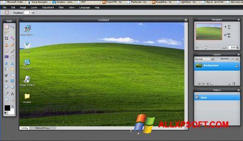 સ્ક્રીનશૉટ LightShot Windows XP
