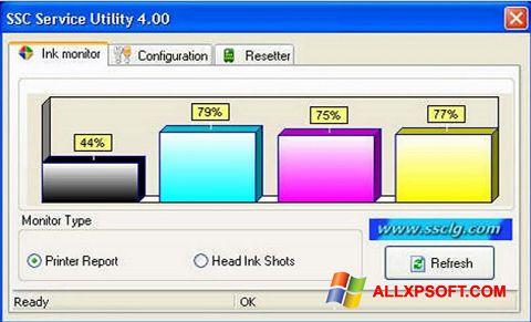 સ્ક્રીનશૉટ SSC Service Utility Windows XP
