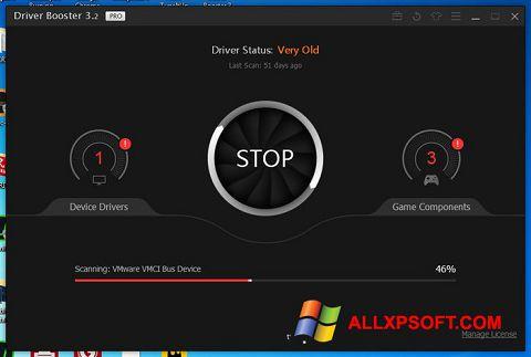 સ્ક્રીનશૉટ Driver Booster Windows XP