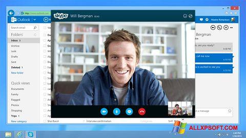 સ્ક્રીનશૉટ Skype Windows XP