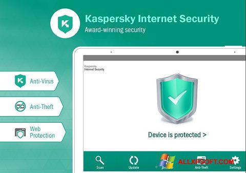સ્ક્રીનશૉટ Kaspersky Internet Security Windows XP