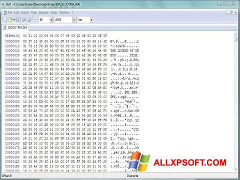 સ્ક્રીનશૉટ Hex Editor Windows XP